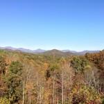 Fall 2012 view - Popcorn Overlook